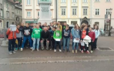 Osmošolci smo spoznavali Ljubljano