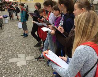 Raziskovanje tržnice in srednjeveške Ljubljane