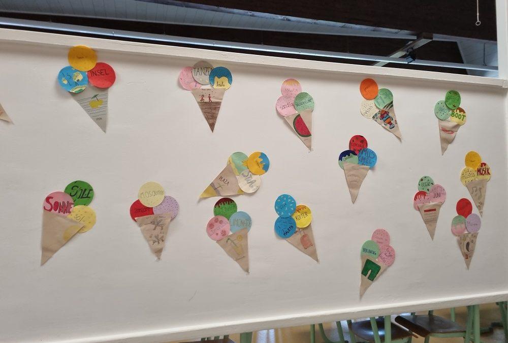 Eis = gelato = helado = sladoled