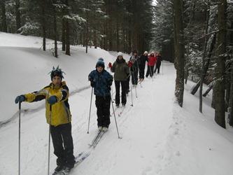 Zimska šola v naravi- 2. dan