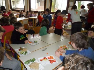 Degustacija zelenjave