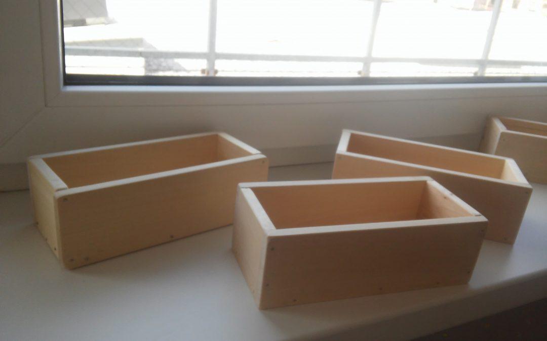 Izdelava lesene škatlice 4. r