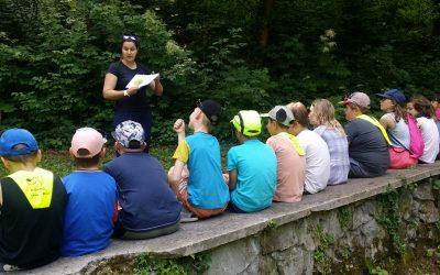 Varno s soncem z učenci 2., 3., 4. in 5. razreda NIS