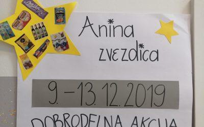 Dobrodelna Anina zvezdica