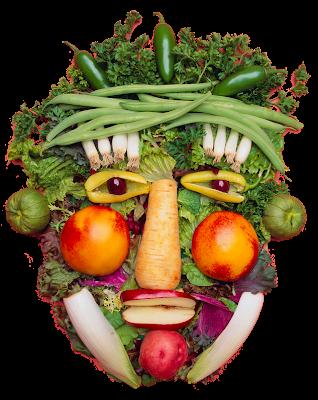 Sadno-zelenjavni obraz